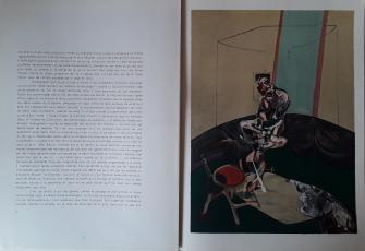 Derriere Le Miroir  No. 162 Novembre 1966  Francis Bacon