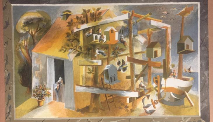 Fisherman's Hut - Hans Tisda