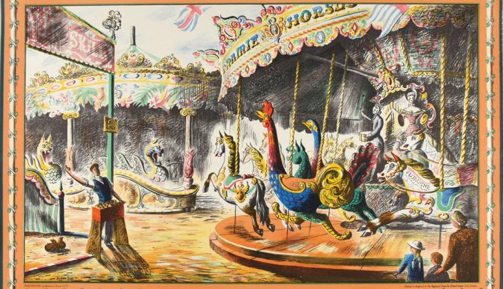 The Fairground - Barbara Jones